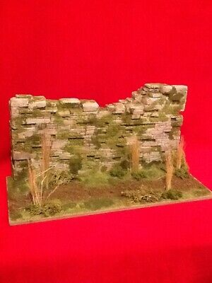 1/6 Scale Stone Wall Diorama, For Dragon & Hot Toy Figures • 45£