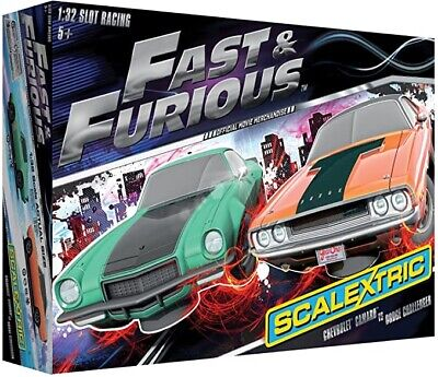 Scalextric C3373A Fast & Furious Limited Edition Slot Cars • 69£