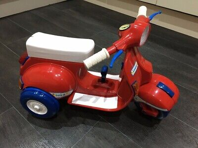 Toddler's Vespa-style Scooter, Chicco 500 S Ride-on Trike, Rare • 44.99£