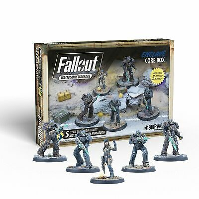 Fallout Wasteland Warfare Miniatures Enclave Core Box Brand New & Sealed • 38.95£