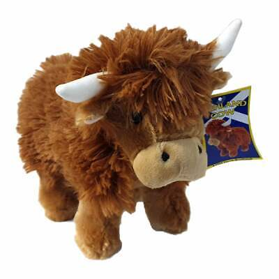 Innes Cromb Medium Highland Cow COO Plush Soft Toy New With Tags 7255HC • 8.99£
