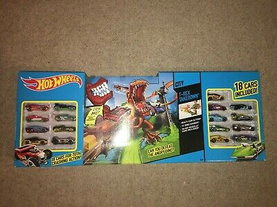 Hot Wheels T-Rex Takedown Play Set- *BNIB*- UNOPENED  • 45.99£