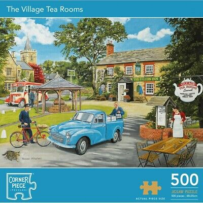 Village Tea Rooms 500 Piece Jigsaw Puzzle, Toys & Games, Brand New • 7£