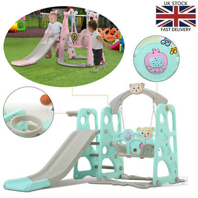Toddler Mountaineering And Swing Set For Indoor And Backyard Baskets • 65.87£