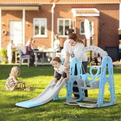 Toddler Mountaineering Swing Set Suitable For Indoor And Backyard Baskets UK • 69.98£