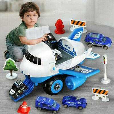 Kids Transport Cargo Airplane Car Truck Set DIY Assemble Educational Toys Gifts • 19.48£