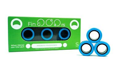 FinGears Magnetic Rings:  Use As Fidget Or Just Fun, Small Finger Size • 14.95£