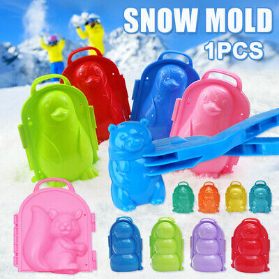 1Pcs Snow Mold Snowball Maker Clip Snow Sand Mould Tool Toy For Kids Outdoor UK • 5.22£