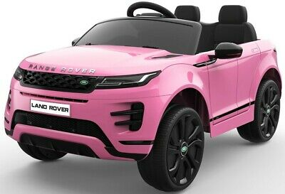 Kids Licensed Range Rover Evoque 12v Electric / Battery Ride On Car - Pink • 219.95£