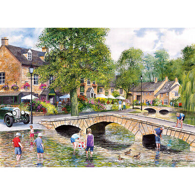 Gibsons Bourton-On-The-Water 1000pc Puzzle G6072 • 14.99£