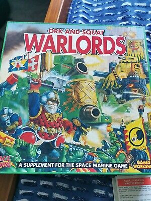 Space Marine Orc And Squat Warlords • 39£