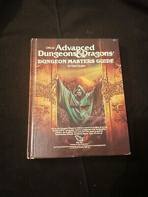 Dungeon Masters Guide Advanced Dungeons And Dragons AD&D 1979 1st Edition • 13£