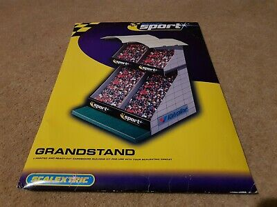 Scalextric Sport Digital Grandstand Building C8152 Boxed Opened Not Assembled • 12.99£