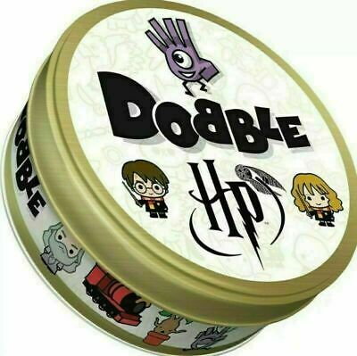 Harry Potter Dobble Card Game Birthday Christmas Home Party Game Gift In Tin UK • 7.89£