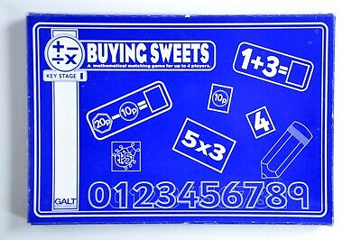 Vintage Galt Educational Buying Sweets Game - Boxed Great Condition • 12£