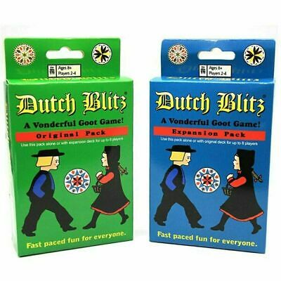 Dutch Blitz All English Basic Expansion Board Game Family Fun Party Card Game • 9£