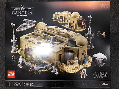 Lego Genuine Star Wars Mos Eisley Cantina UCS Set 75290 NEW Sealed Mint In Hand  • 349.99£