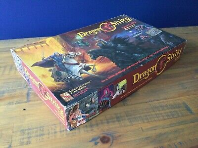 TSR Dragon Strike Board Game 100% Complete, Boxed, Very Good Condition • 119.95£