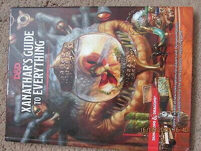 Wotc D&d 5e Xanathars Guide To Everything  Dungeons & Dragons  Rpg Vgc Hb Hc  • 55£