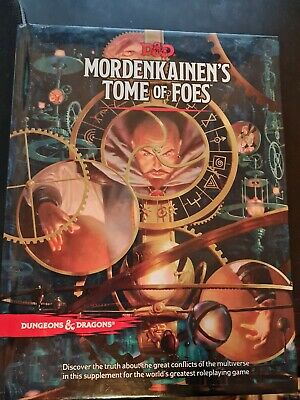 Mordenkainen's Tome Of Foes - 5th Ed. Dungeons & Dragons D&D Book • 27£