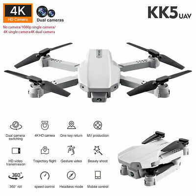 Drone X Pro WIFI FPV 4K HD Wide Angle Camera Foldable Selfie RC Quadcopter Gift~ • 26.49£