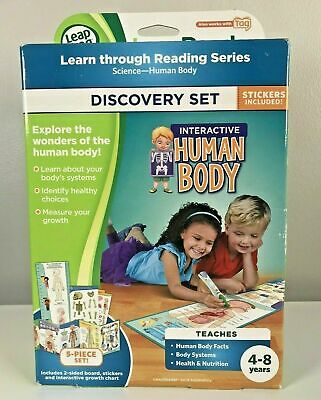 Leapfrog Interactive Human Body NEW LeapFrog LeapReader Kids Educational • 12.59£