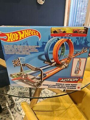 Hot Wheels Double Loop Dash BNIB • 29£