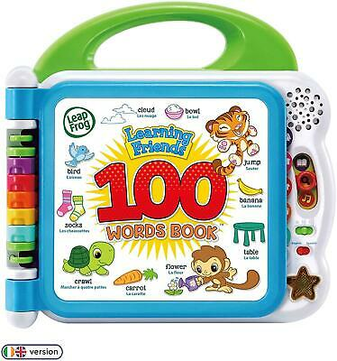 LeapFrog 601503 Learning Friends 100 Words Baby Book Educational And Interactive • 23.98£