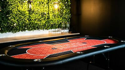 Texas Hold'em Poker Table - Red • 202.86£