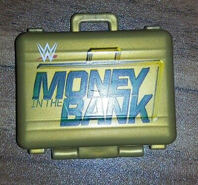 WWE Elite Money In The Bank Briefcase Gold • 10£