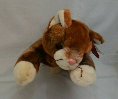 Ty Beanie Buddy Pounce The Cat - Retired With Tags. Rare • 18£