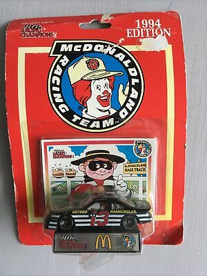 Mcdonalds Vintage Racing Team Hamburglar Racing Car 1994 New • 2.99£