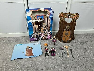 Playmobil 4774 Barbarian Take Along Fort Carry Case Knights 100% Complete Boxed • 7.49£