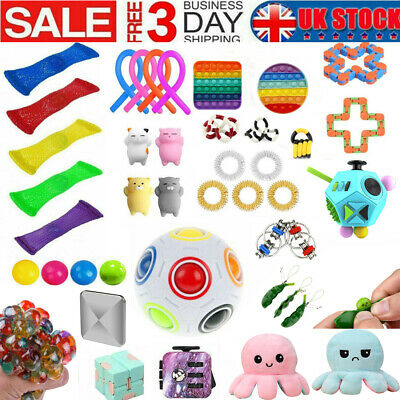 1-25Pack Fidget Toys Set Sensory Tools Bundle Stress Relief Hand Kids Adults Toy • 23.49£