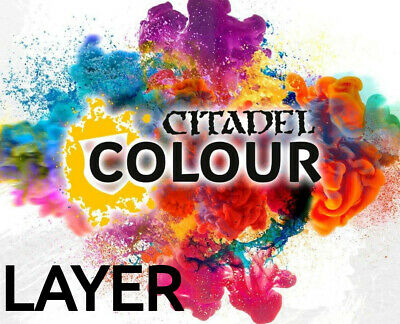 Citadel Colour | Age Of Sigmar | Warhammer 40k | Cheapest Online! | LAYER PAINT • 3.75£
