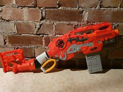 Nerf Scravenger Zombie Strike Toy Blaster. Filled With New Official Darts.  • 24.99£