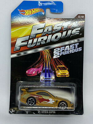 Hot Wheels Fast & Furious 2 Fast 2 '94 Toyota Supra #2/8 (Mint But Bad Card) • 9.99£