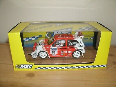 MSC Competition MG Metro 6R4  RAC Rally 1986 Slot Car Compatible With Scalextric • 40£