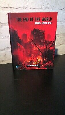 THE END OF THE WORLD ZOMBIE APOCALYPSE By Fantasy Flight RPG Horror Rare OOP • 50£