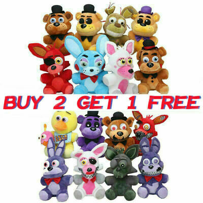 Five Nights At Freddy's FNAF Horror Game Plushie Toys Plush Doll Kids Xmas Gifts • 6.49£