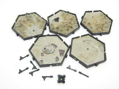 (3370) Hex Tiles Map Mighty Empires Planetary Empires Sigmar 40k Warhammer • 0.99£