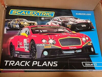 Scalextric C8334 Track Plans Book 10th Edition • 9.99£