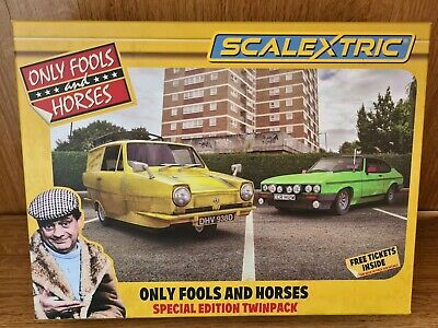 Scalextric C4179A Only Fools And Horses Twin Pack • 75.99£