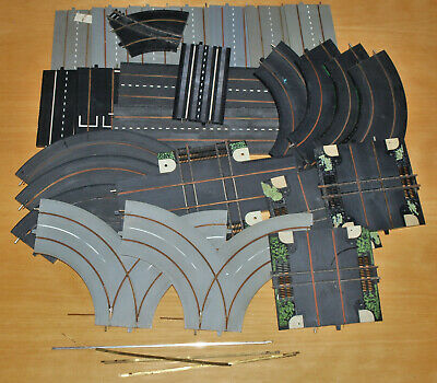 25 Vintage Assorted Minic Motorways Track Sections - Forks, Level Crossings Etc  • 29.99£