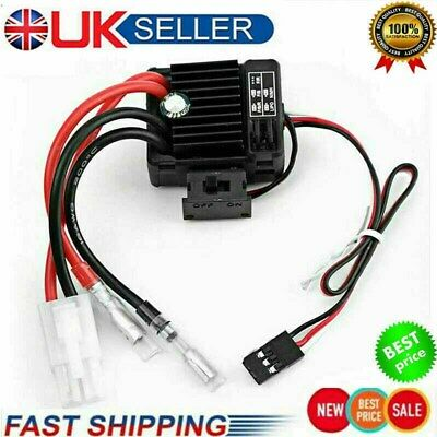UK RC Car QuicRun 1060 60A Brushed ESC Electronic Speed Controller Hot • 7.99£