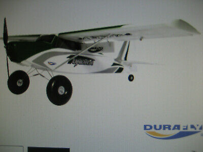 Durafly Tundra RC Aeroplane With Flaps, Water Floats, Skis ,  Plug N Fly NEW • 52£