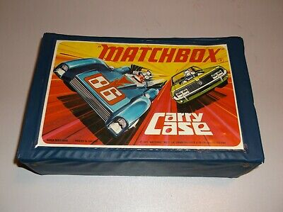 Matchbox Lesney 24 Car Carry Case C1970's With 2 Trays • 5£