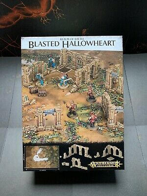 Blasted Hallowheart Battle Board And Scenery • 40£