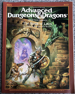 Advanced Dungeons & Dragons The Book Of Lairs • 10£