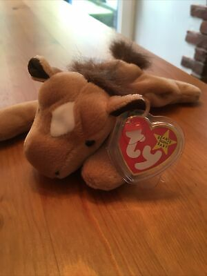 Ty Beanie Babie Retired Derby New With Tag Protector • 2.99£